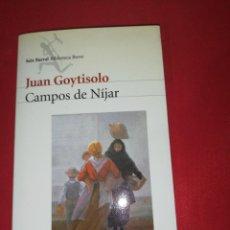 Libros de segunda mano: JUAN GOYTISOLO, CAMPOS DE NIJAR. Lote 172032195