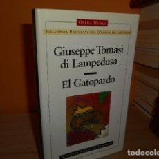 Libros de segunda mano: EL GATOPARDO / GIUSEPPE TOMASI DI LAMPEDUSA / OPERA MUNDI. Lote 172227663