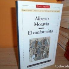 Libri di seconda mano: EL CONFORMISTA / ALBERTO MORAVIA / OPERA MUNDI. Lote 172227735