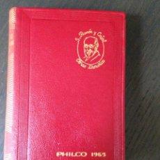 Libros de segunda mano: SANTIAGO RAMÓN Y CAJAL OBRAS LITERARIAS COMPLETAS AGUILAR 1961 4ª EDICIÓN BUEN ESTADO. Lote 172304927