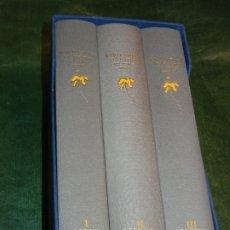 Libros de segunda mano: MARCEL PROUST: A LA RECERCA DEL TEMPS PERDUT 3 VOLS. COMPLETO (COLUMNA, 1990) TRAD. VIDAL ALCOVER. Lote 172476767