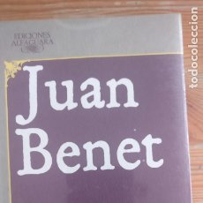 Libros de segunda mano: IMAGEN DEL VENDEDOR HERRUMBROSAS LANZAS. LIBROS I-VI BENET, JUAN ALFAGUARA PRECINTADO. Lote 172811180