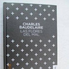 Libros de segunda mano: LAS FLORES DEL MAL , CHARLES BAUDELAIRE - AUSTRAL PASTA DURA - NUEVO . Lote 172957400