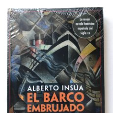 Libros de segunda mano: EL BARCO EMBRUJADO. NOVELA DE MAGIA. ALBERTO INSÚA.NUEVO. Lote 184384537