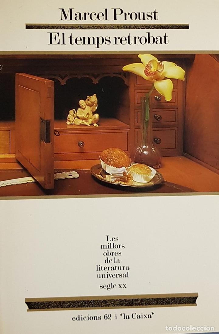 EL TEMPS RETROBAT (CATALÁN) (Libros de Segunda Mano (posteriores a 1936) - Literatura - Narrativa - Otros)