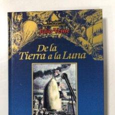 Libros de segunda mano: DE LA TIERRA A LA LUNA. JULIO VERNE. EDICIONES RUEDA. MADRID, 2001. PAGINAS: 166. Lote 202530176