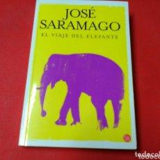 Libros de segunda mano: EL VIAJE DEL ELEFANTE .JOSÉ SARAMAGO . ED. PUNTO DE LECTURA .. Lote 173088929