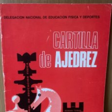 Libros de segunda mano: CARTILLA DE AJEDREZ ·· ROMAN TORAN . Lote 173106627