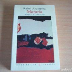 Libros de segunda mano: MARARIA, 1983, EDITORIAL INTERINSULAR CANARIAS SL . Lote 173580153
