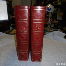 Libros de segunda mano: DON QUIJOTE DE LA MANCHA. MIGUEL DE CERVANTES. DOS TOMOS. MONTANER Y SIMON, BARCELONA. 1970. LEER. Lote 173802742