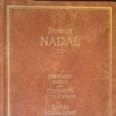 Libros de segunda mano: PREMIOS NADAL 12. CONVERSACION SOBRE LA GUERRA. NARCISO. EL INGENIOSO HIDALGO Y POETA FEDERICO GARCI. Lote 173693503