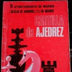 Libros de segunda mano: CARTILLA DE AJEDREZ. - TORAN, ROMAN.. Lote 173702387