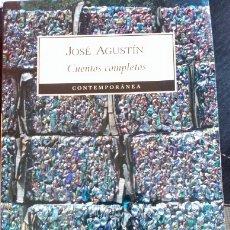 Libros de segunda mano: CUENTOS COMPLETOS. - AGUSTIN, JOSE.. Lote 173717079