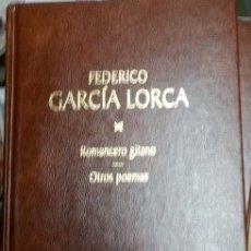 Libros de segunda mano: ROMANCERO GITANO. OTROS POEMAS. POEMAS SUELTOS I. POEMAS EN PROSA. - GARCIA LORCA, FEDERICO.. Lote 173732719