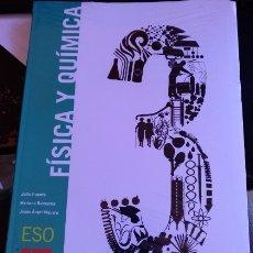 Libros de segunda mano: FISICA Y QUIMICA. 3º ESO. - PUENTE/REMACHA/VIGUERA, JULIO/MARIANO/JESUS ANGEL.. Lote 173738300