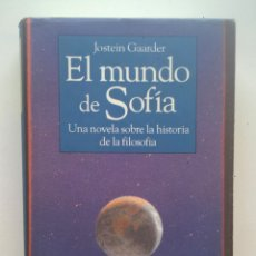 Libros de segunda mano: EL MUNDO DE SOFÍA,DE JOSTEIN GAARDER - CÍRCULO DE LECTORES (BARCELONA) - AÑO 1995. Lote 173999107