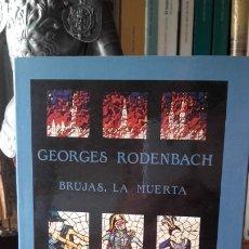 Libros de segunda mano: RODENBACH: BRUJAS, LA MUERTA, (VALDEMAR, 1989).. Lote 174020850