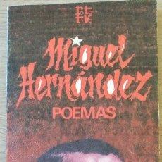 Libros de segunda mano: POEMAS. - HERNANDEZ, MIGUEL.. Lote 173776789