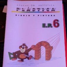 Libros de segunda mano: DIBUJO Y PINTURA E.P. 6. EDUCACION ARTISTICA PLASTICA.. Lote 173738397