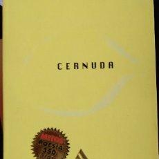 Libros de segunda mano: 34 POEMAS. - CERNUDA, LUIS.. Lote 173746728