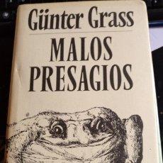 Libros de segunda mano: MALOS PRESAGIOS. - GRASS, GÜNTER.. Lote 173746848