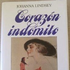 Libros de segunda mano: CORAZON INDOMITO. - LINDSEY, JOHANNA.. Lote 173756170