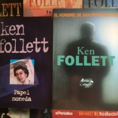 Libros de segunda mano: LOTE 8 LIBROS KEN FOLLETT - BUEN ESTADO GENERAL - TAPA BLANDA. Lote 174054483