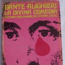 Libros de segunda mano: LA DIVINA COMEDIA DE DANTE ALIGHIERI. Lote 174238024