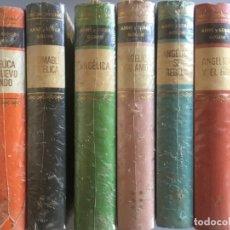 Libros de segunda mano: LOTE ANGELICA - ANNE Y SERGE GOLON - 6 TOMOS, 5 DE ELLOS PRECINTADOS AUN. Lote 174278342