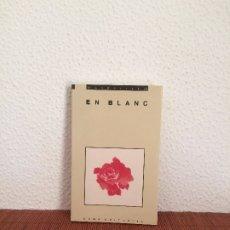 Libros de segunda mano: EN BLANC (LIBRO EN BLANCO) - EUMO EDITORIAL. Lote 174409237