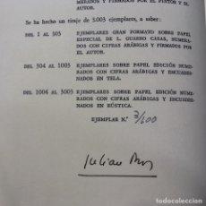Libros de segunda mano: JULIÁN RÍOS - LARVA - BABEL DE UNA NOCHE DE SAN JUAN - PRIMERA EDICIÓN - NUMERADO Y FIRMA AUTOR. Lote 174465273