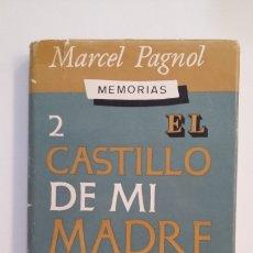 Libros de segunda mano: EL CASTILLO DE MI MADRE. II. 2. MEMORIAS. MARCEL PAGNOL. EDITORIAL JUVENTUD. TDK412. Lote 174571494