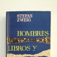 Libros de segunda mano: HOMBRES, LIBROS Y CIUDADES. - STEFAN ZWEIG. EDITORIAL JUVENTUD. TDK412. Lote 174571580