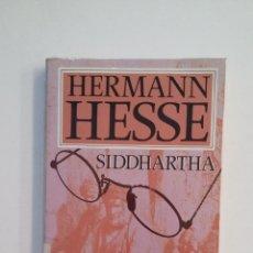 Libros de segunda mano: SIDDHARTA. HERMANN HESSE. PLAZA JANES. TDK412. Lote 174573344