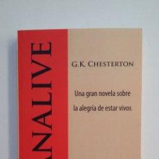 Libros de segunda mano: MANALIVE. - G. K. CHESTERTON. TDK413. Lote 174890370