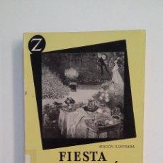 Libros de segunda mano: LA FIESTA EN EL JARDÍN Y OTROS CUENTOS. - MANSFIELD, KATHERINE. EDITORIAL JUVENTUD. TDK413. Lote 174906547