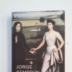 Libros de segunda mano: VEINTE AÑOS Y UN DÍA. - JORGE SEMPRÚN. CIRCULO DE LECTORES. TDK414. Lote 174926314