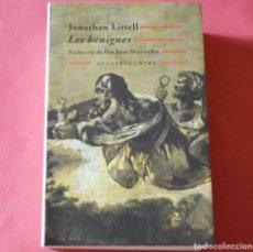 Libros de segunda mano: LES BENIGNES - JONATHAN LITTELL - QUADERNS CREMA - EN CATALA. Lote 175380249