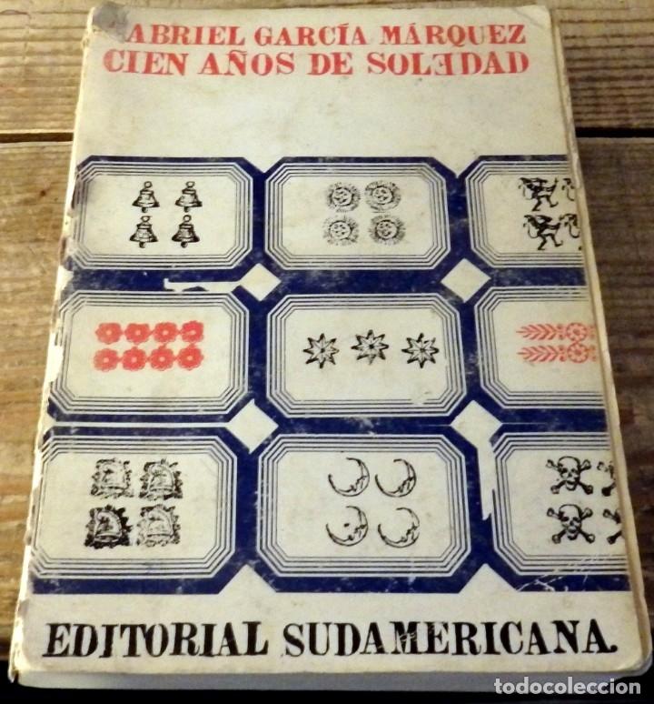 GABRIEL GARCIA MARQUEZ.CIEN AÑOS DE SOLEDAD. 1974.EDITORIAL SUDAMERICANA. (Libros de Segunda Mano (posteriores a 1936) - Literatura - Narrativa - Otros)