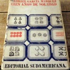 Libros de segunda mano: GABRIEL GARCIA MARQUEZ.CIEN AÑOS DE SOLEDAD. 1974.EDITORIAL SUDAMERICANA.. Lote 175447564