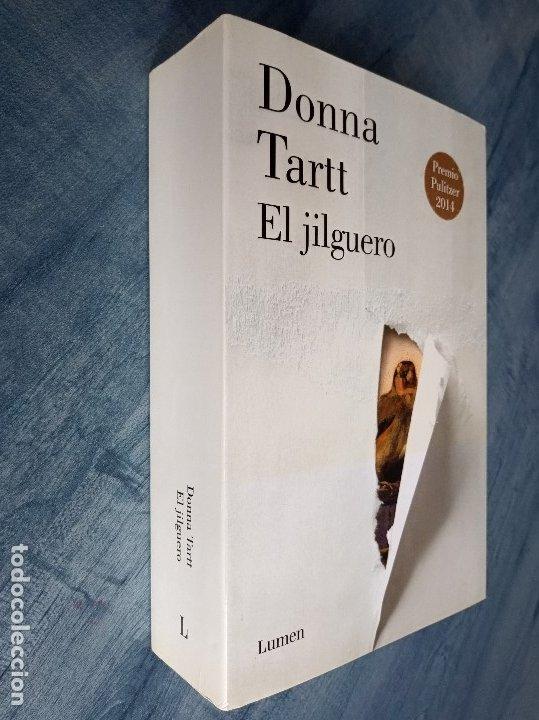 El jilguero, donna tartt, lumen. rústica con so - Vendido