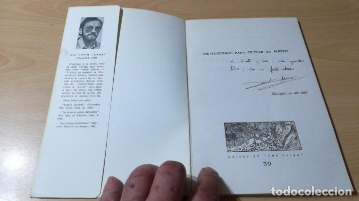 Libros de segunda mano: CANTOS DE TIERRA Y VERSO - JOSE VERON GORMAZ - DEDICATORIA AUTOGRAFA - INSTITUCION FERNADO EL CATOLI - Foto 3 - 175545207