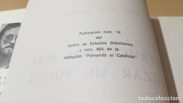 Libros de segunda mano: CANTOS DE TIERRA Y VERSO - JOSE VERON GORMAZ - DEDICATORIA AUTOGRAFA - INSTITUCION FERNADO EL CATOLI - Foto 7 - 175545207