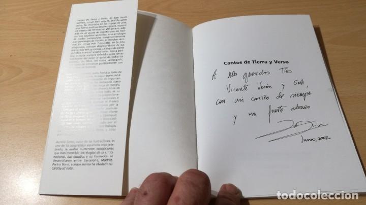 Libros de segunda mano: TRIPTICOS DE SILENCIO - CAVERNARIO - JOSE VERON GORMAZ - DEDICATORIA AUTOGRAFA/ I-405 - Foto 3 - 175545250