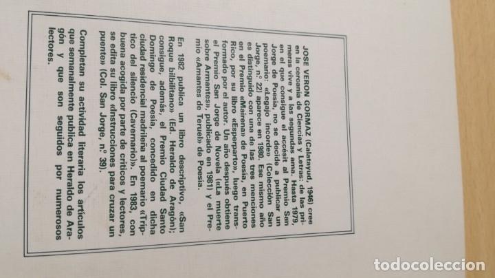 Libros de segunda mano: LA MUERTE SOBRE ARMANTES - JOSE VERON GORMAZ - DEDICATORIA AUTOGRAFA/ I-405 - Foto 3 - 175545287