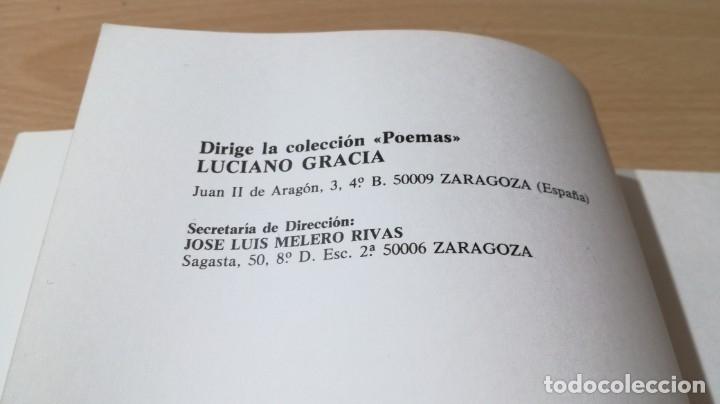 Libros de segunda mano: LA MUERTE SOBRE ARMANTES - JOSE VERON GORMAZ - DEDICATORIA AUTOGRAFA/ I-405 - Foto 7 - 175545287