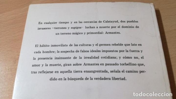 Libros de segunda mano: LA MUERTE SOBRE ARMANTES - JOSE VERON GORMAZ - DEDICATORIA AUTOGRAFA/ I-405 - Foto 3 - 175545334