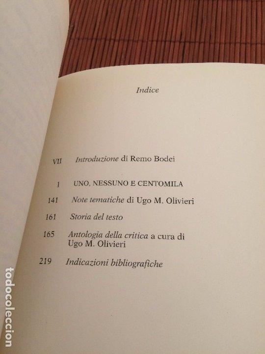 Libros de segunda mano: Uno, nessuno e centomila (en italiano) - Luigi Pirandello - Feltrinelli - Foto 2 - 175583639