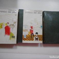 Libros de segunda mano: RAMÓN SENDER CRÓNICAS DEL ALBA (3 TOMOS) Y95852. Lote 175665769