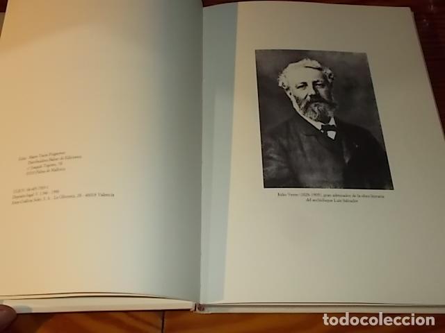 Libros de segunda mano: ESCALA EN MALLORCA. JULIO VERNE . PALMA DE MALLORCA. 1ª EDICIÓN 1998. EDICIÓN LIMITADA Y NUMERADA - Foto 4 - 175674269